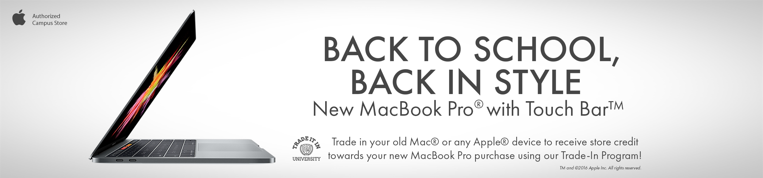 Check out our back to school Macbook Sale!